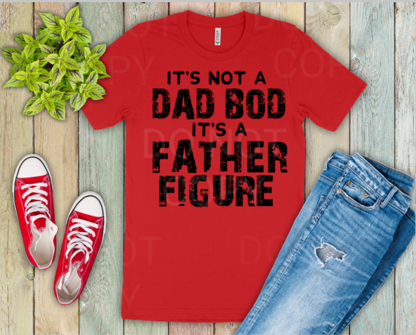 Dad Bod Father's Day shirt