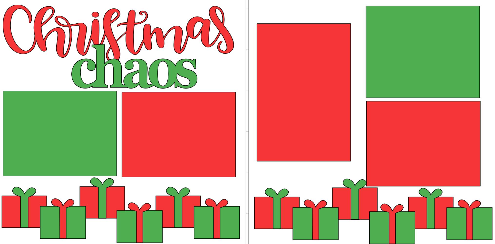 Christmas Chaos   page kit