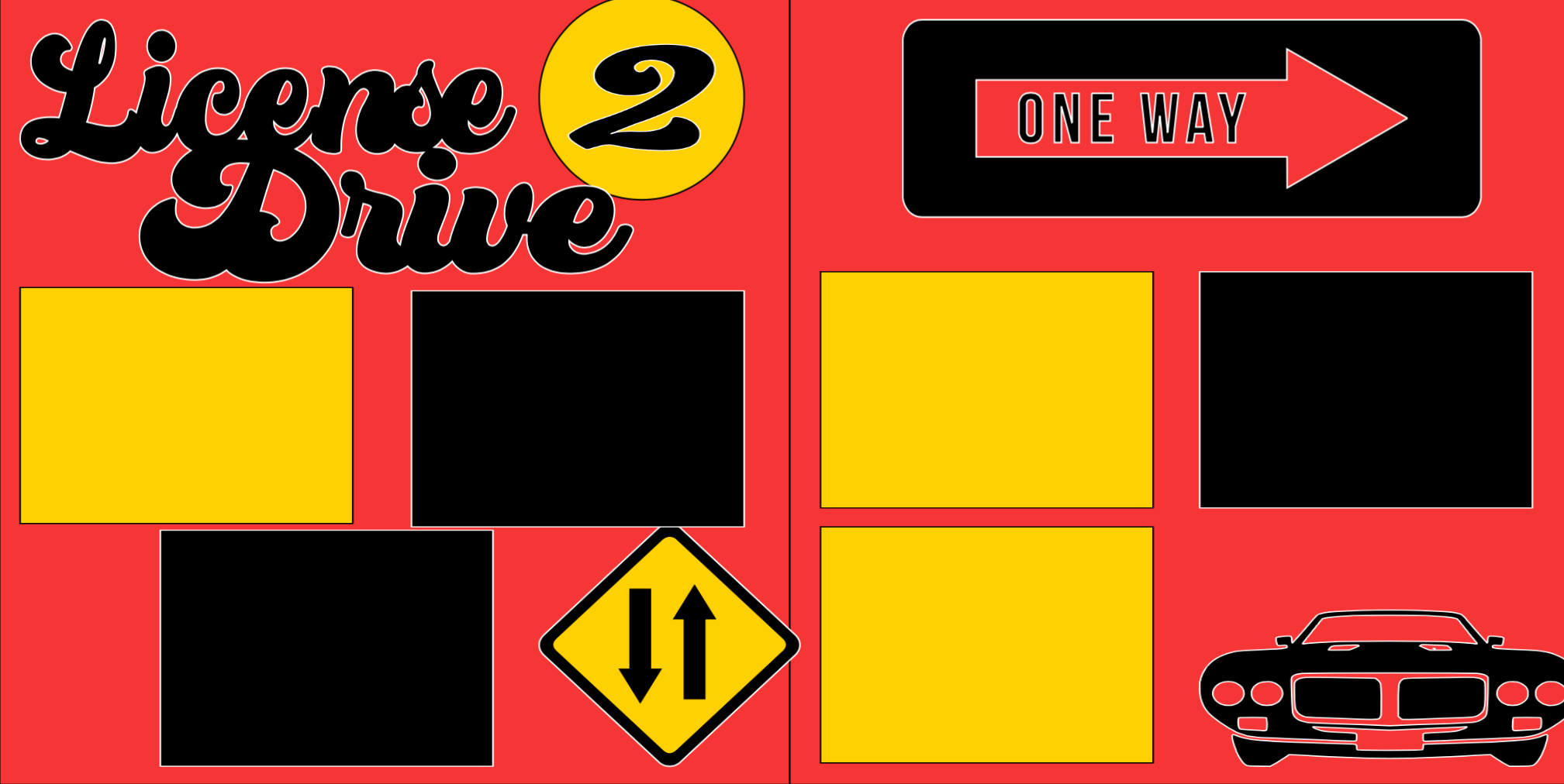 License to Drive -  page kit