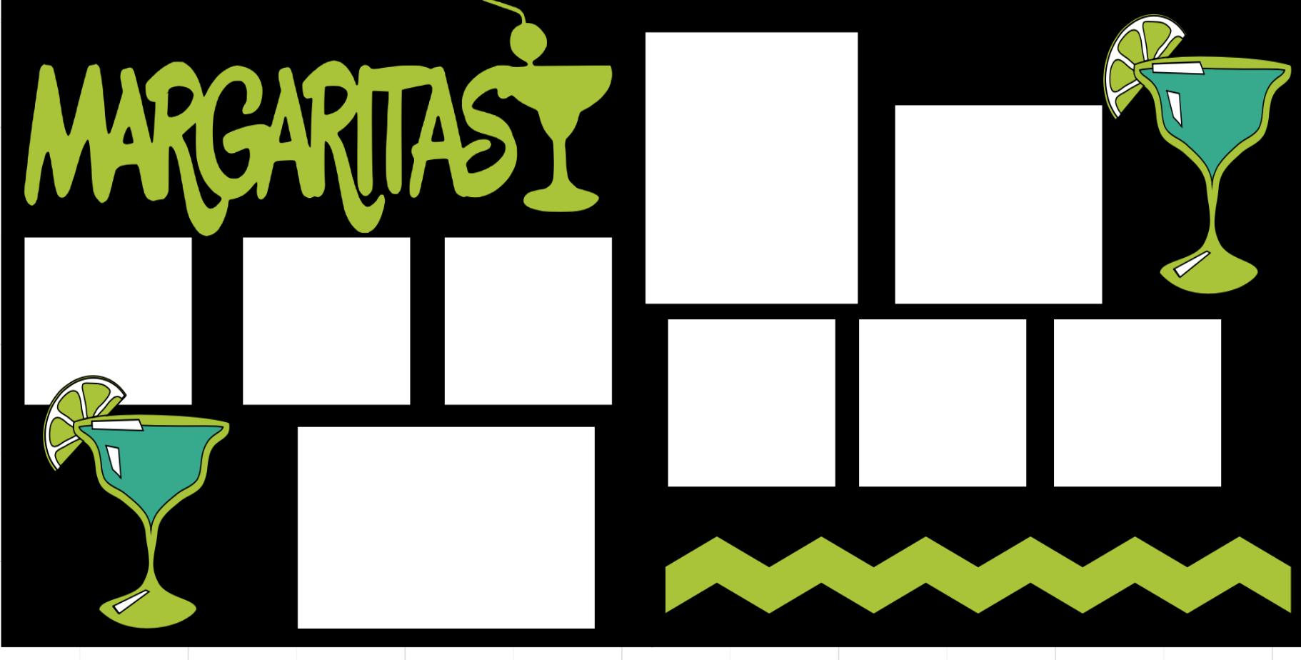 Margaritas -  page kit