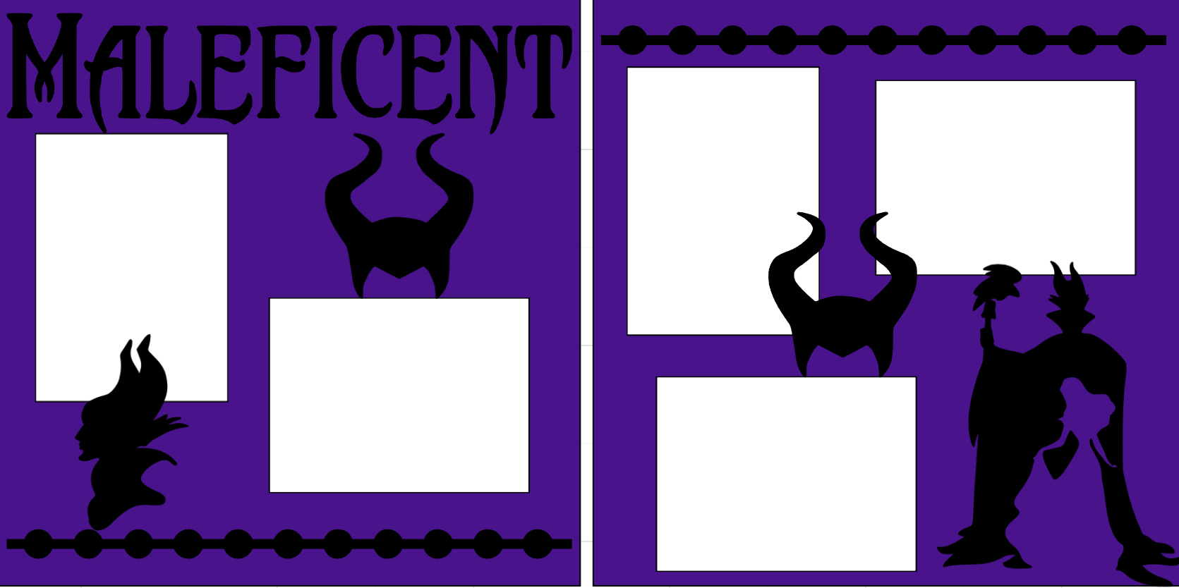 Maleficent-  page kit