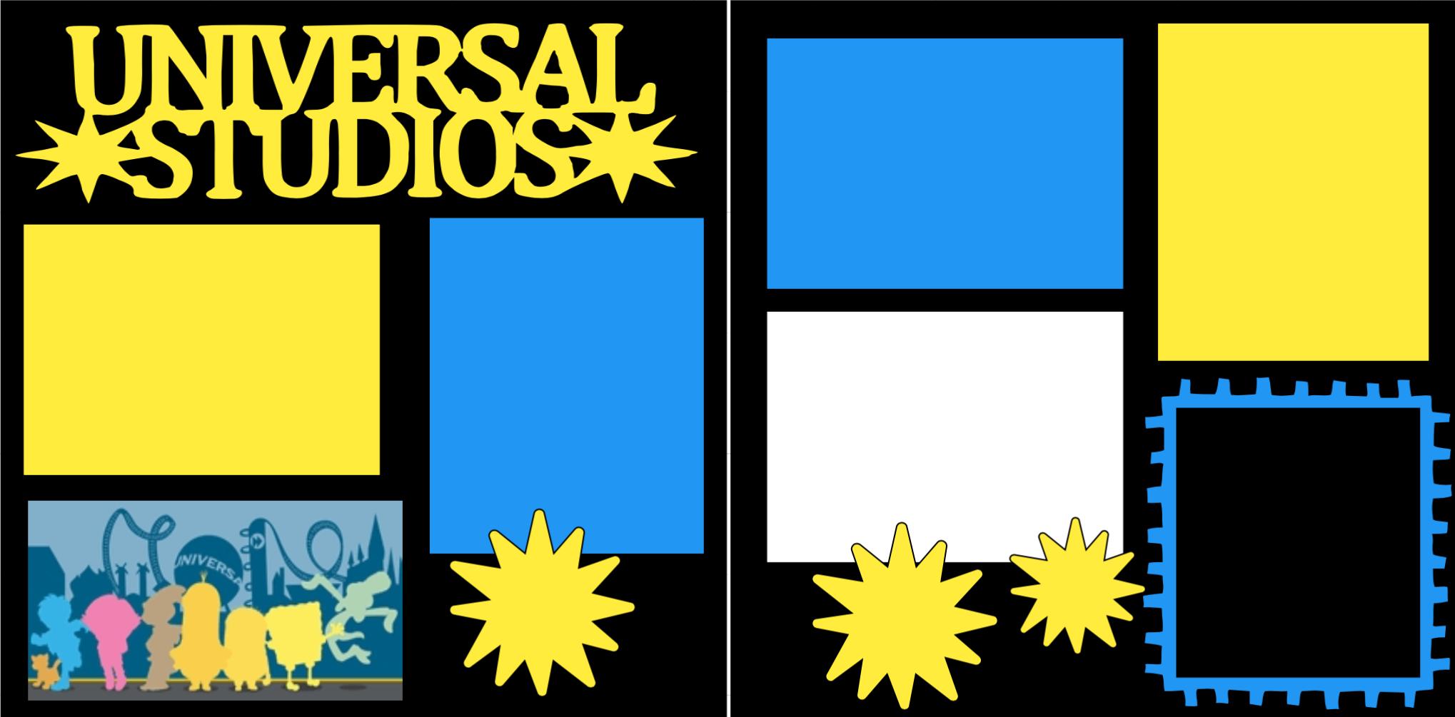 Universal Studios-  page kit