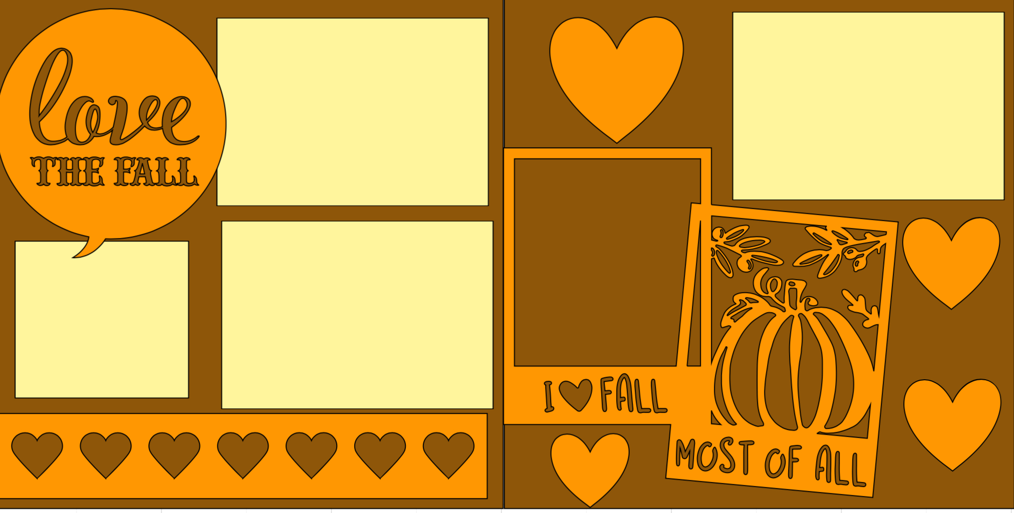 Love the Fall-  page kit