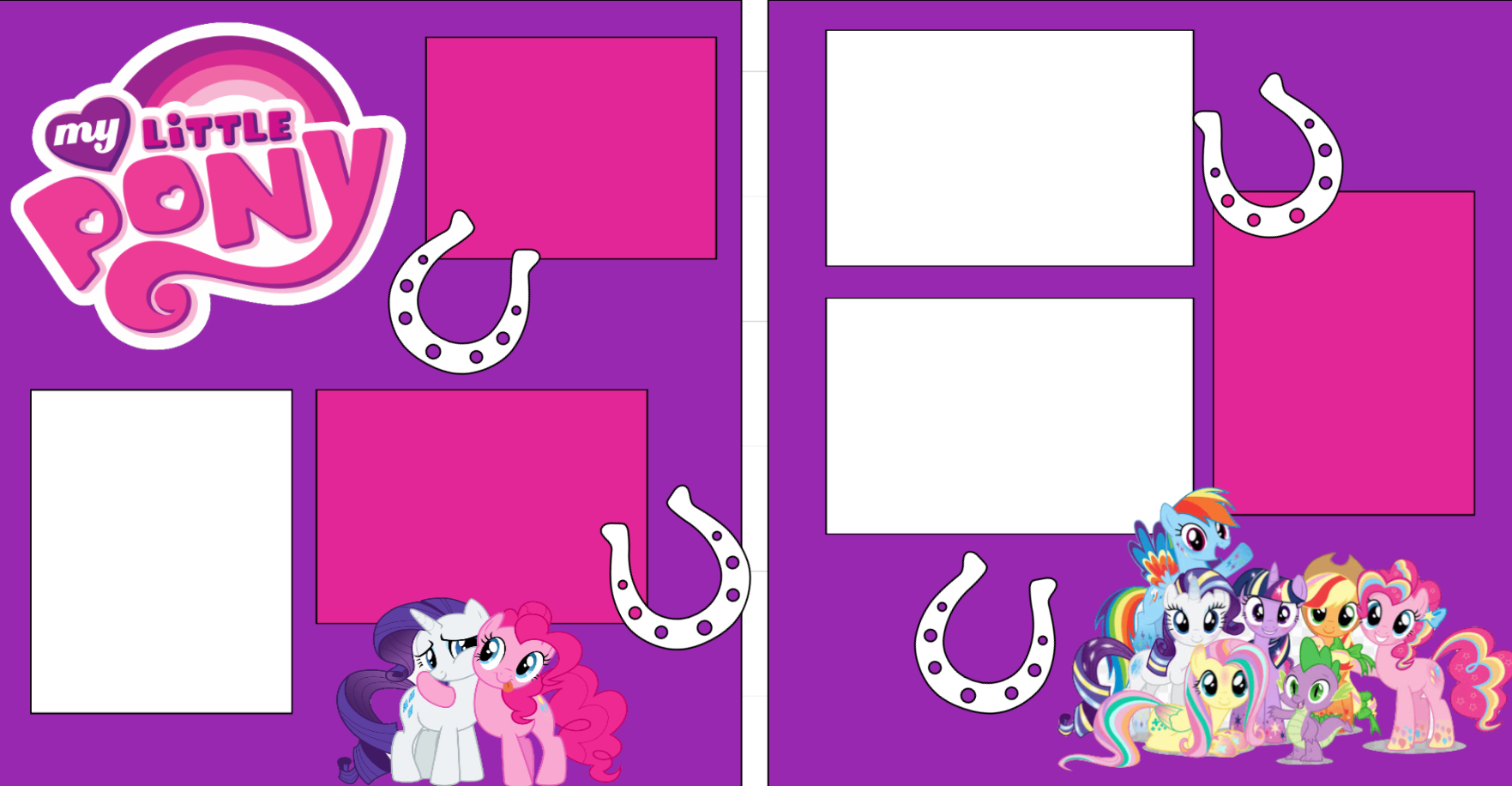 My little Pony -  page kit