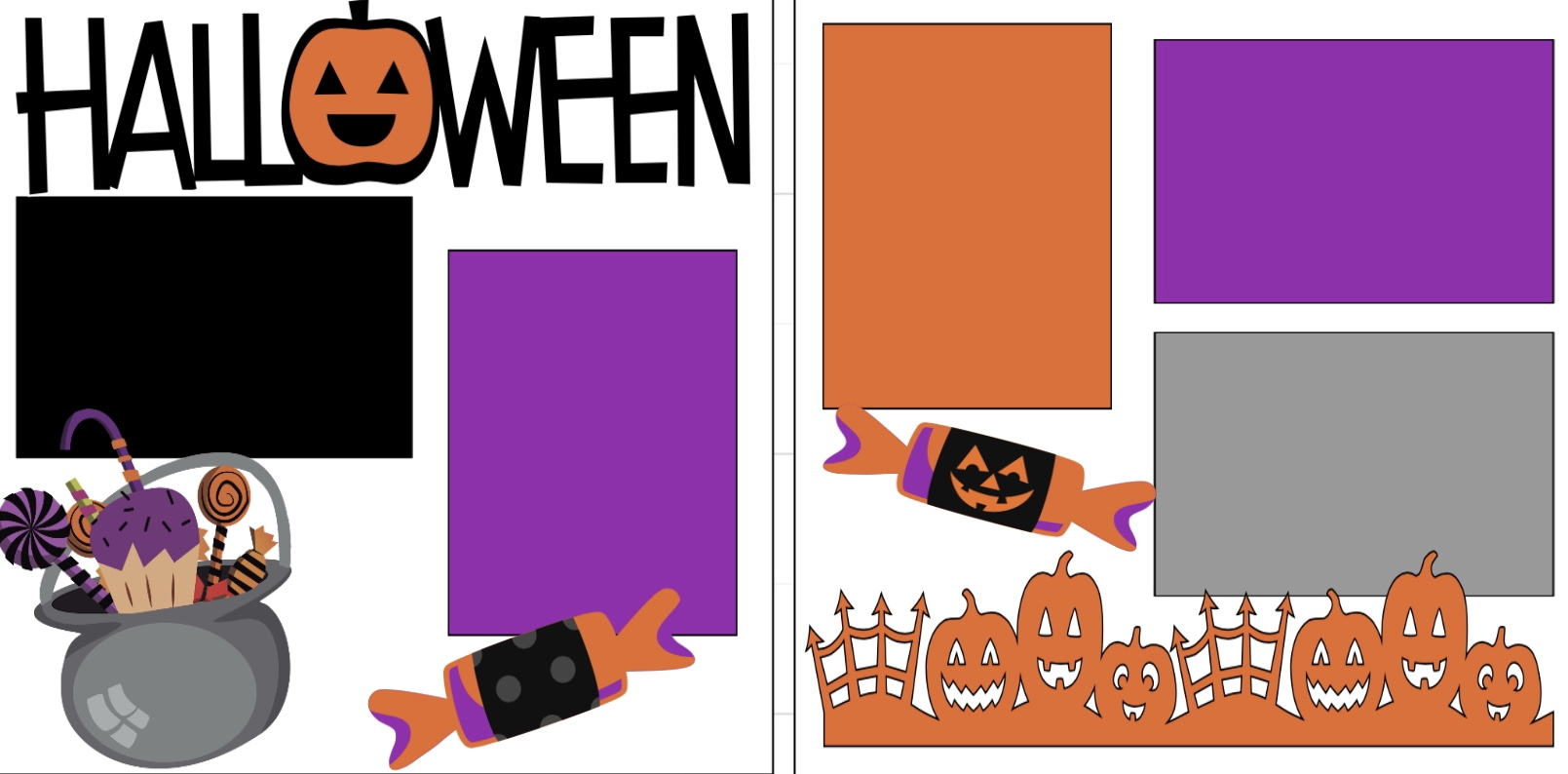 Halloween-@@@  page kit