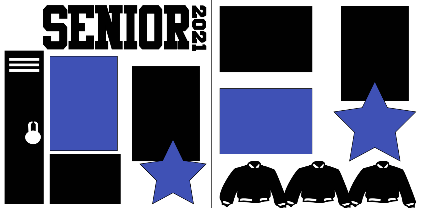 2021 SENIOR YEAR  page kit