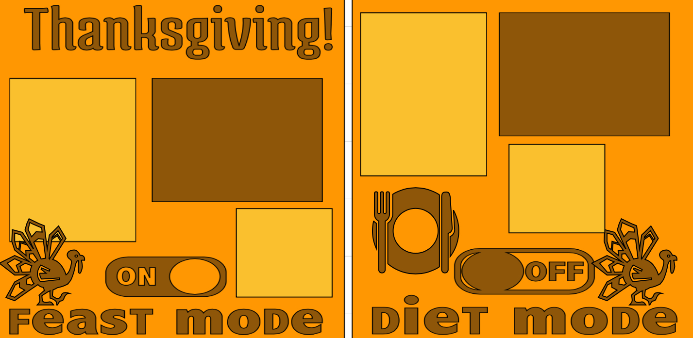 Thanksgiving—Feast Mode on-  page kit