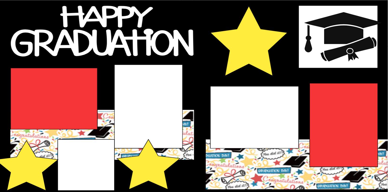 Happy Graduation -**  page kit