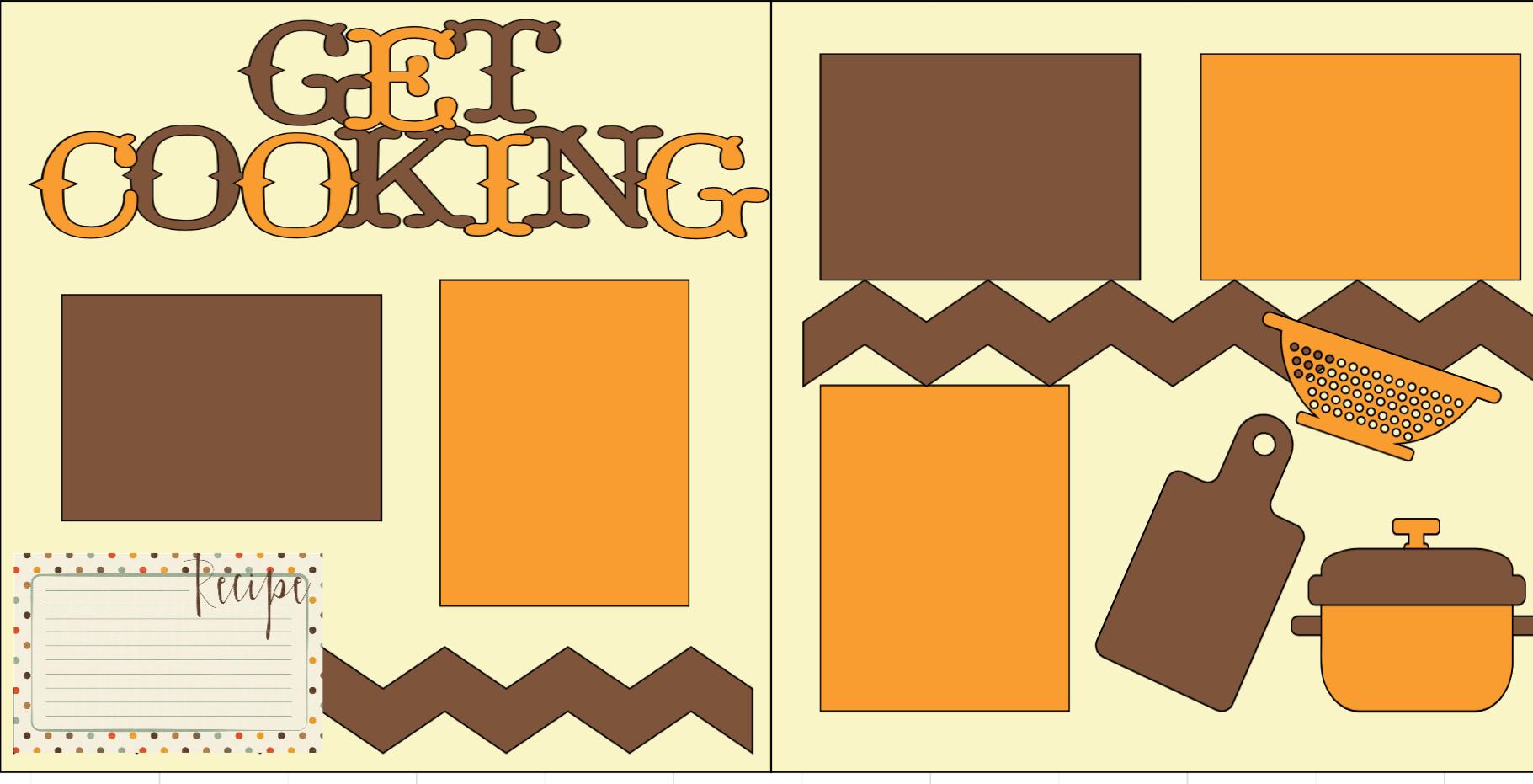 Get Cooking-  page kit