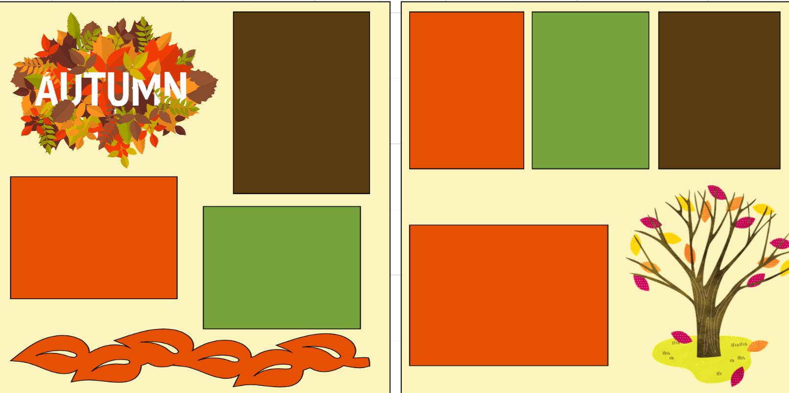 Autumn-  page kit
