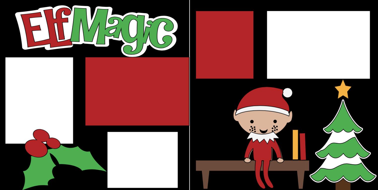 Christmas Elf Magic-  page kit