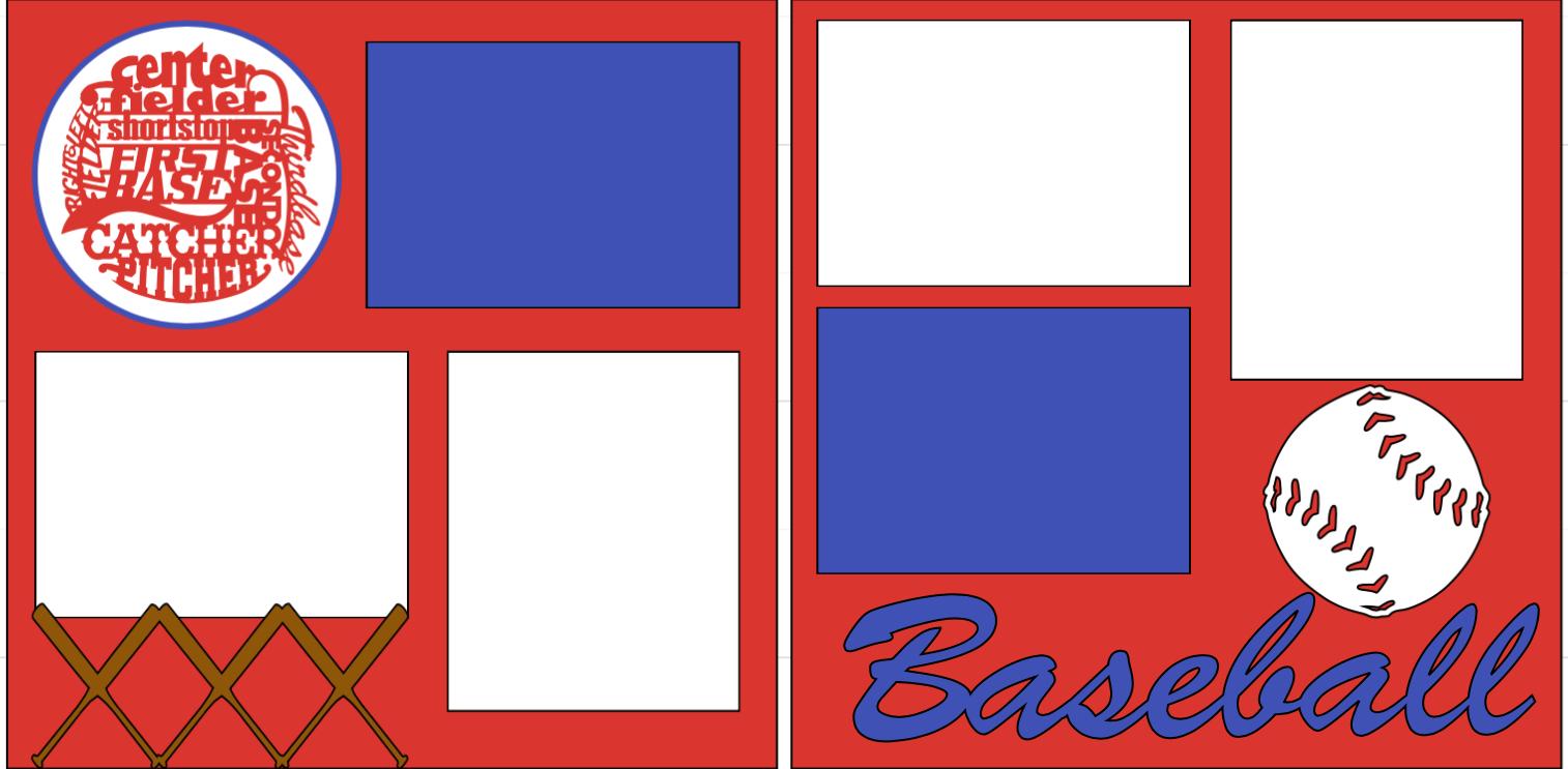 BASEBALL ⚾� -  page kit