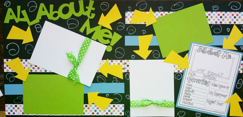 ALL ABOUT ME 2 page kit