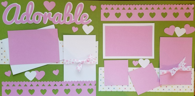 SIMPLY ADORABLE  page kit