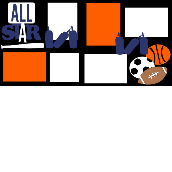 ALL STAR ***   -basic page kit