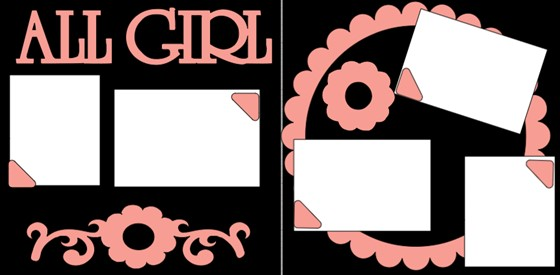 ALL GIRL * -  page kit