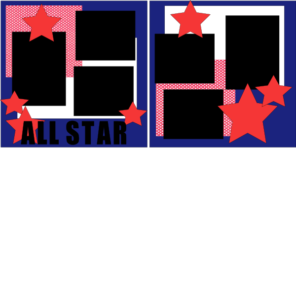 ALL STARS 2  -basic page kit
