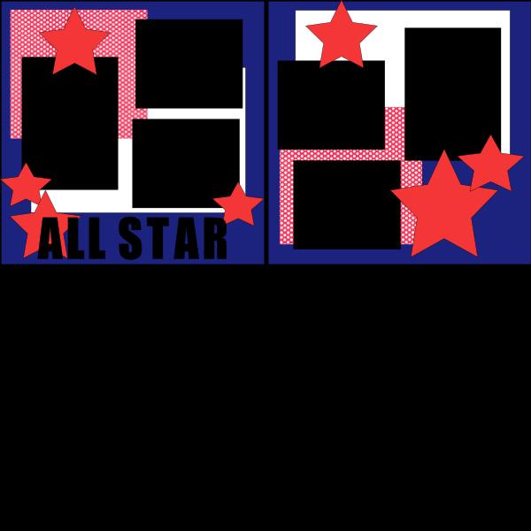 ALL STARS 2  -basic page kit
