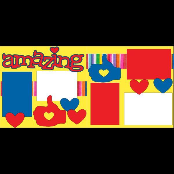 AMAZING  -basic page kit