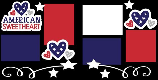 AMERICAN SWEETHEART  -  page kit