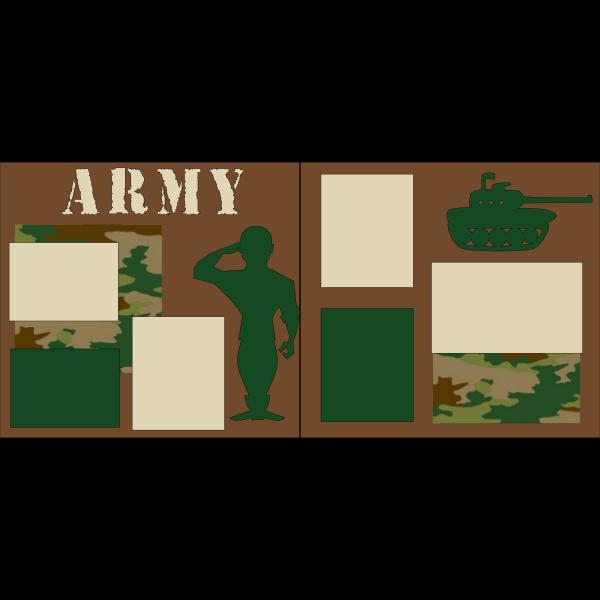 ARMY  -basic page kit