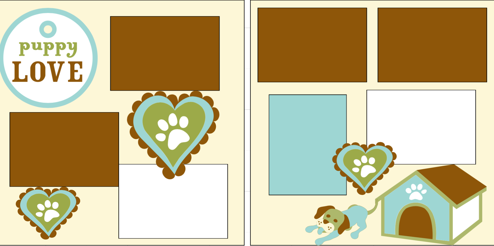 Puppy Love -  page kit