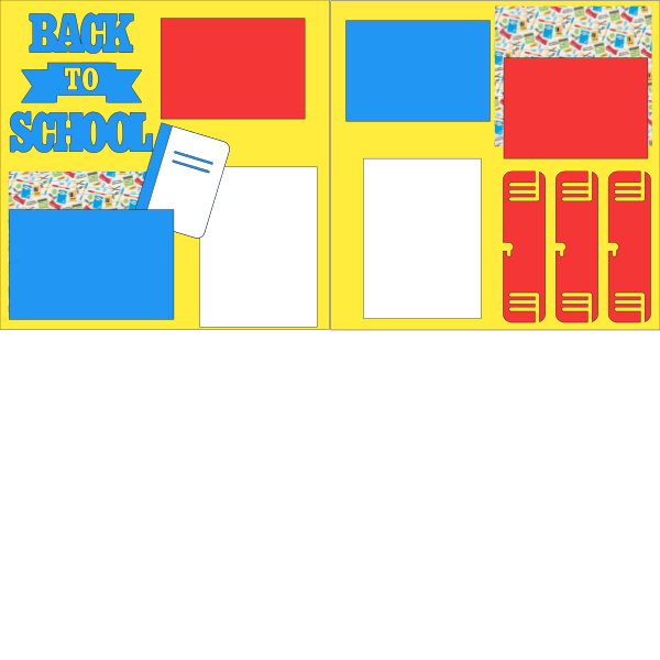 BACK TO SCHOOL *   --   page kit