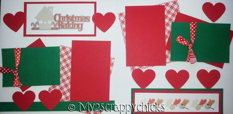 Christmas BAKING   - page kit