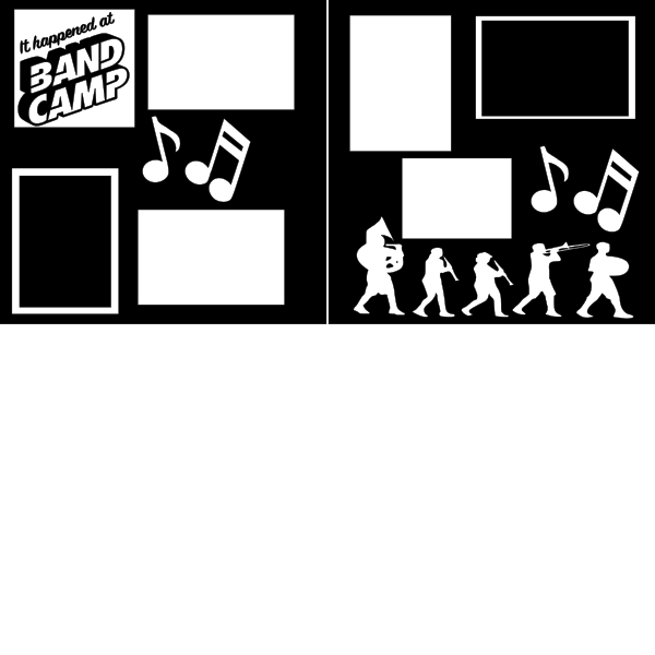 BAND CAMP - MARCHING BAND  page kit