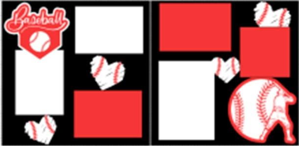 BASEBALL (STRIKE)  -basic page kit