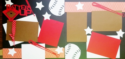 BATTER UP BASEBALL    page kit