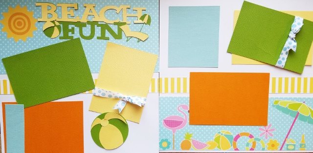 BEACH FUN **   page kit