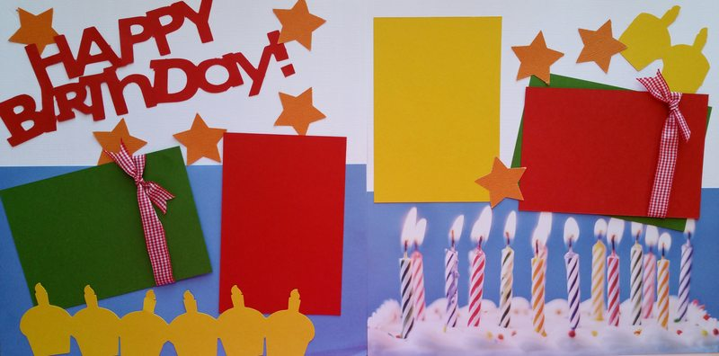 HAPPY BIRTHDAY  *  Page kit