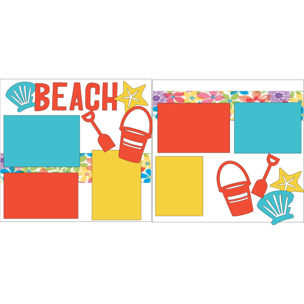 BEACH-SAND -basic page kit
