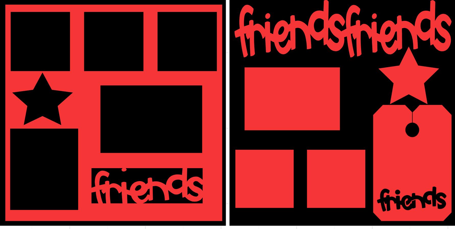 Friends-  page kit