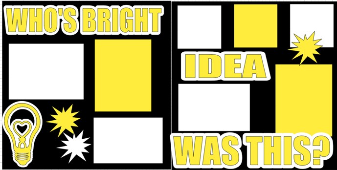 WHO'S BRIGHT IDEA WAS THIS ANYWAY?  -  page kit