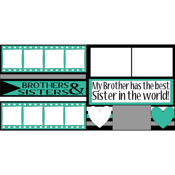 *BROTHERS & SISTERS* -basic page kit