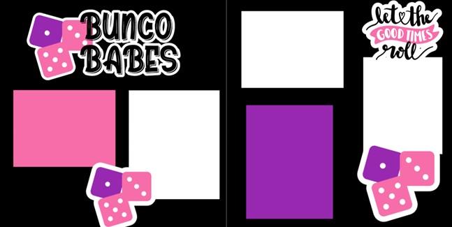 BUNCO BABES    -  page kit
