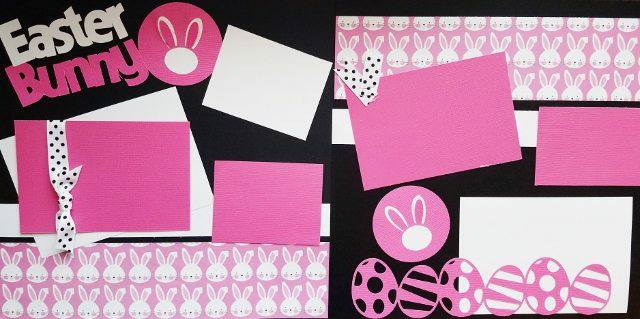 EASTER BUNNY  page kit