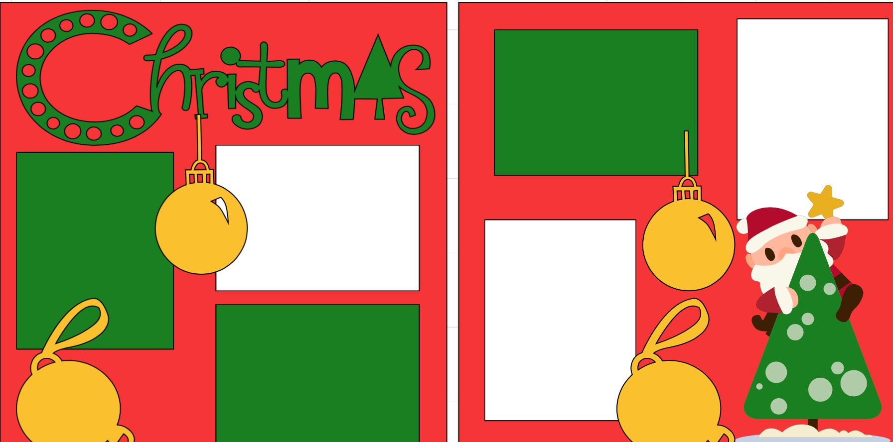 Christmas -  page kit