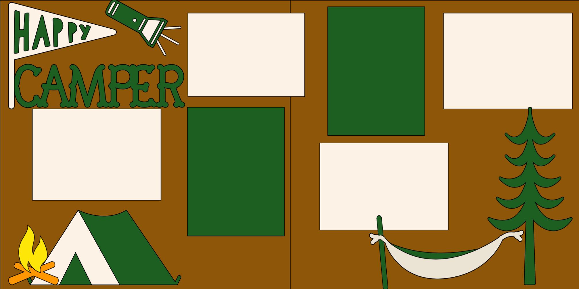 HAPPY CAMPER . -  page kit
