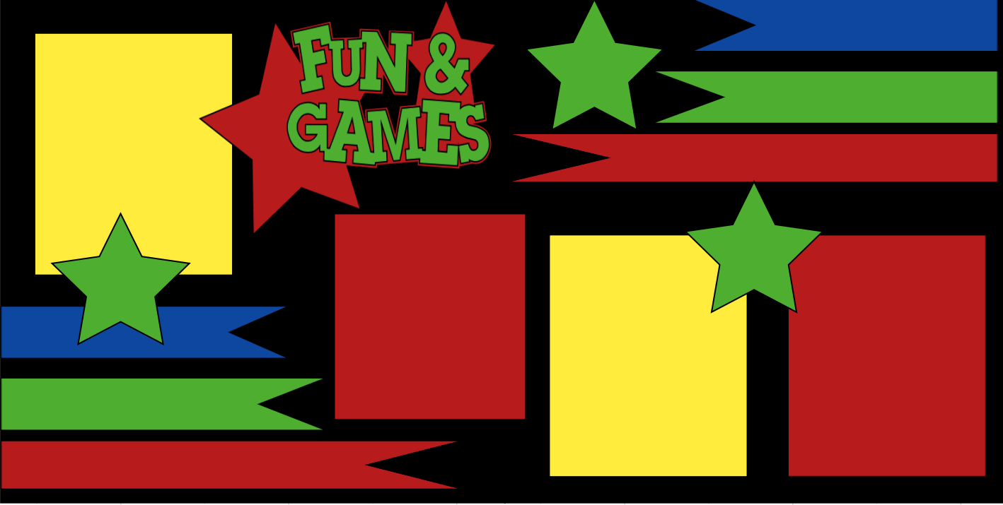 **Fun and Games-  page kit