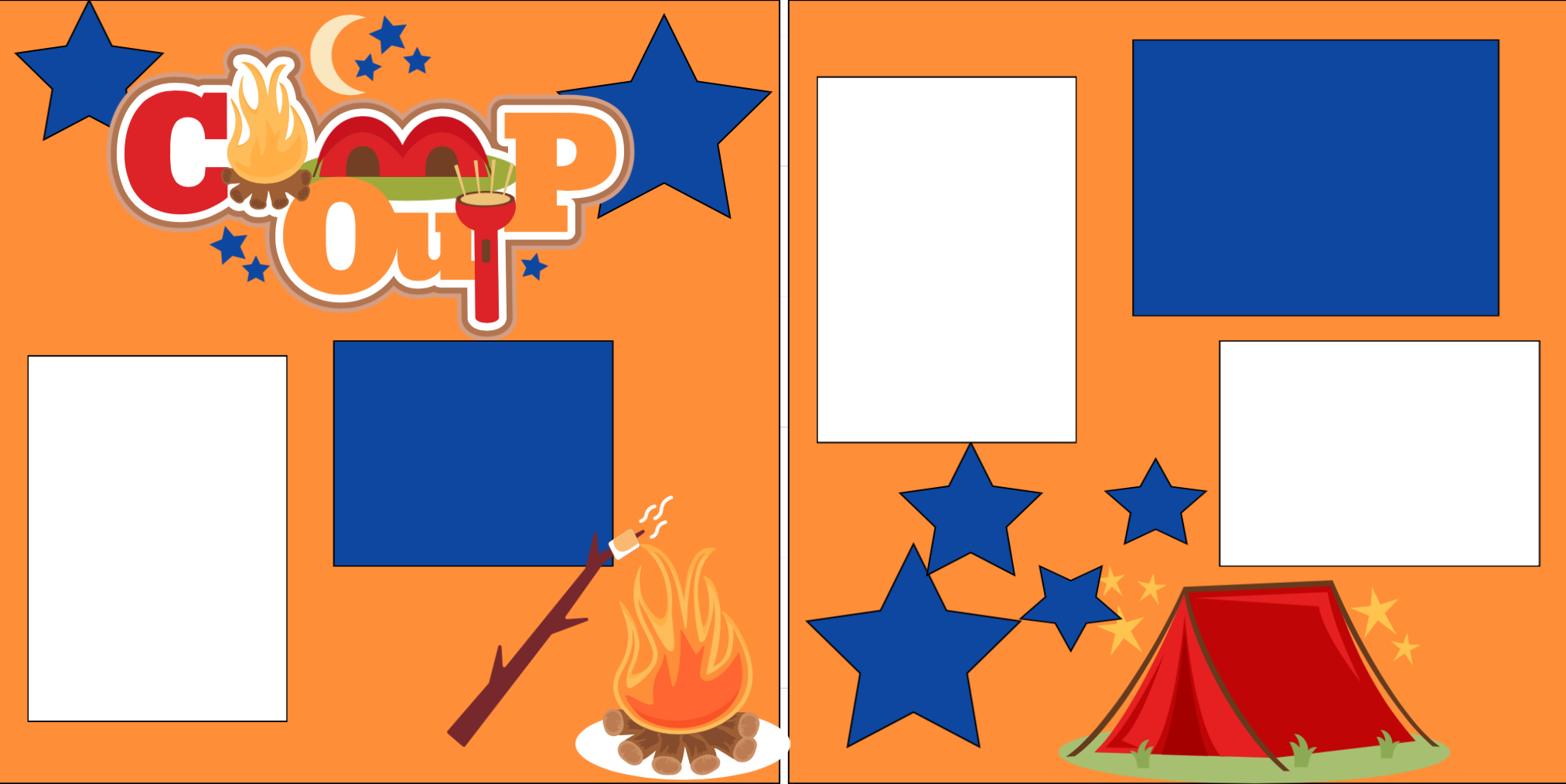 Camp Out-  page kit