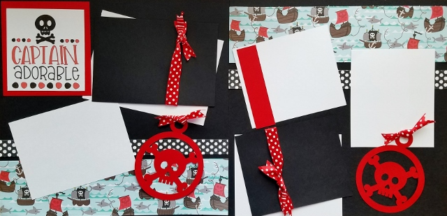 CAPTAIN ADORABLE PIRATE page kit