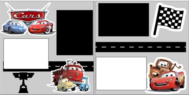 DISNEY CARS * -  page kit
