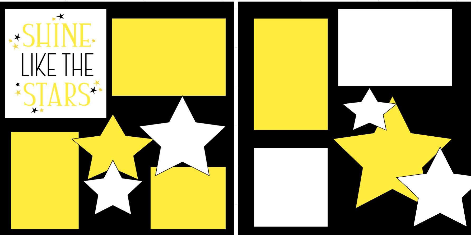 Shine like the stars-  page kit