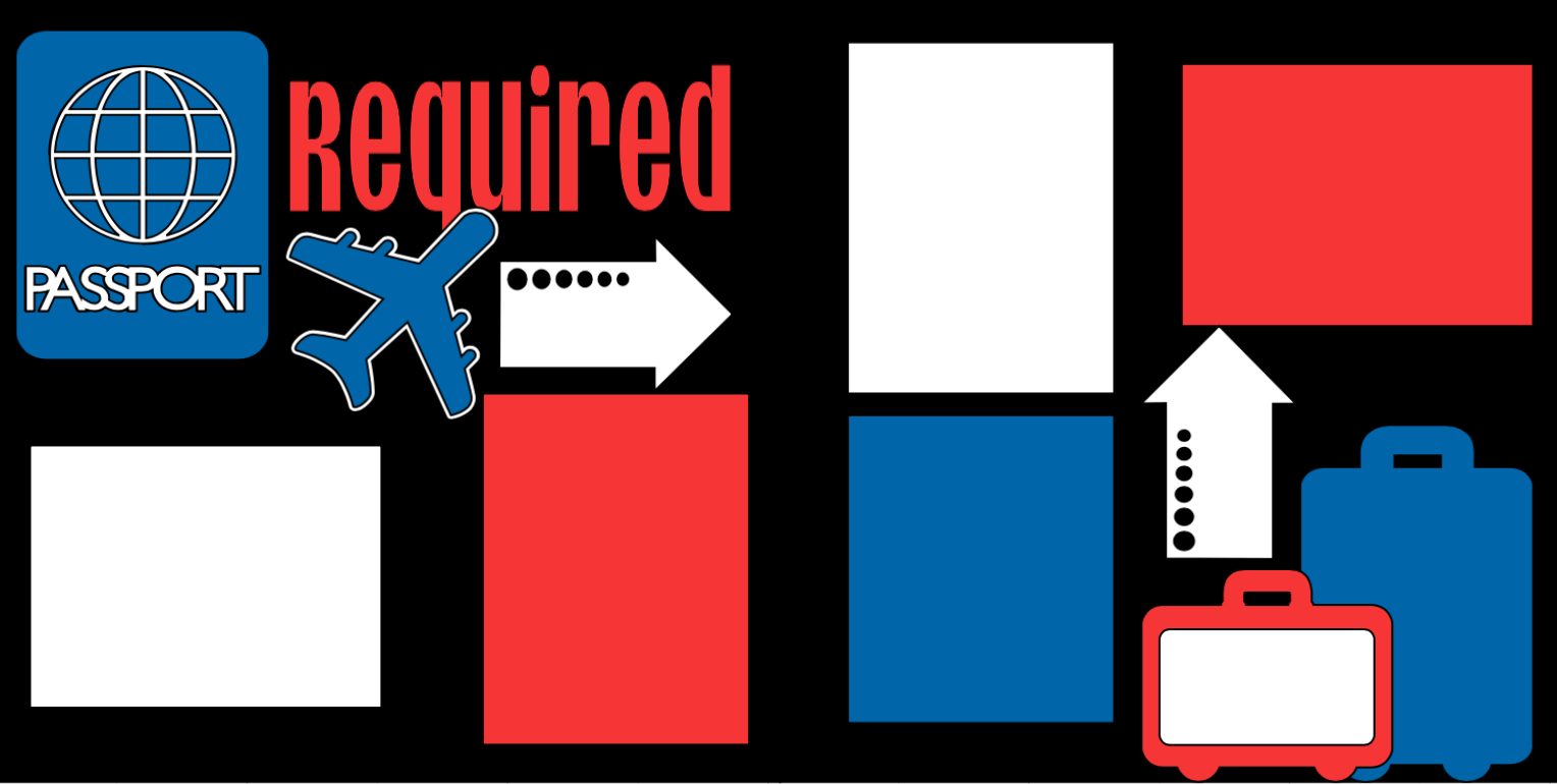 Passport Required Die cuts Only