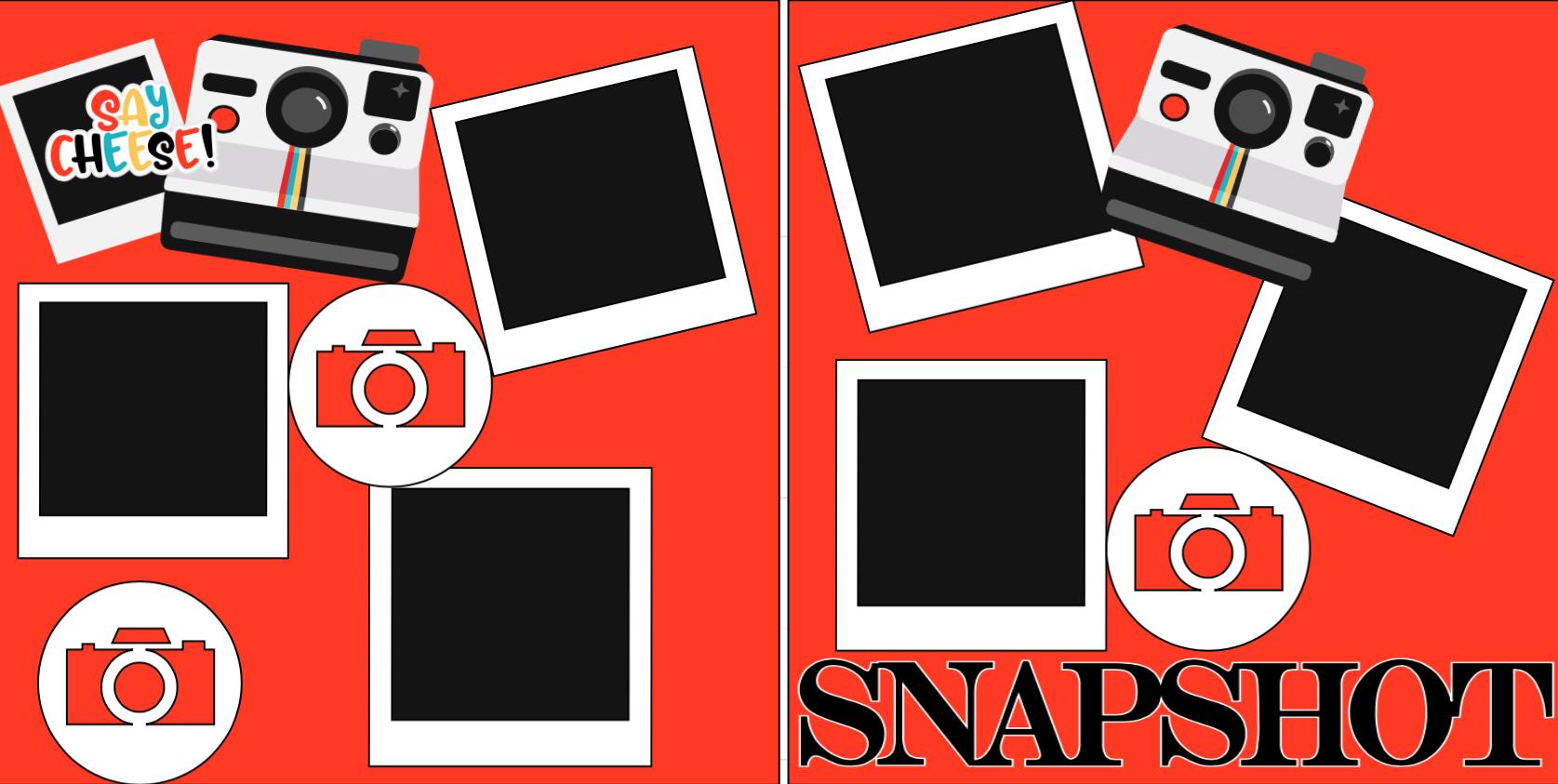 Say cheese Snapshots -  page kit