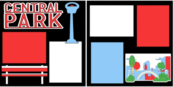CENTRAL PARK NEW YORK    -  page kit