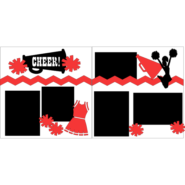 CHEER-CHEERLEADING  -basic page kit